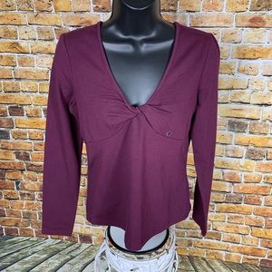 NWT G.H. Bass & Co Stretch Top Size Small
